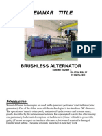 Brushless Alternator Seminar Ppt
