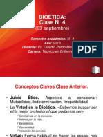 Clase N° 4 Bioética(1)