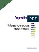prepositions cl 5