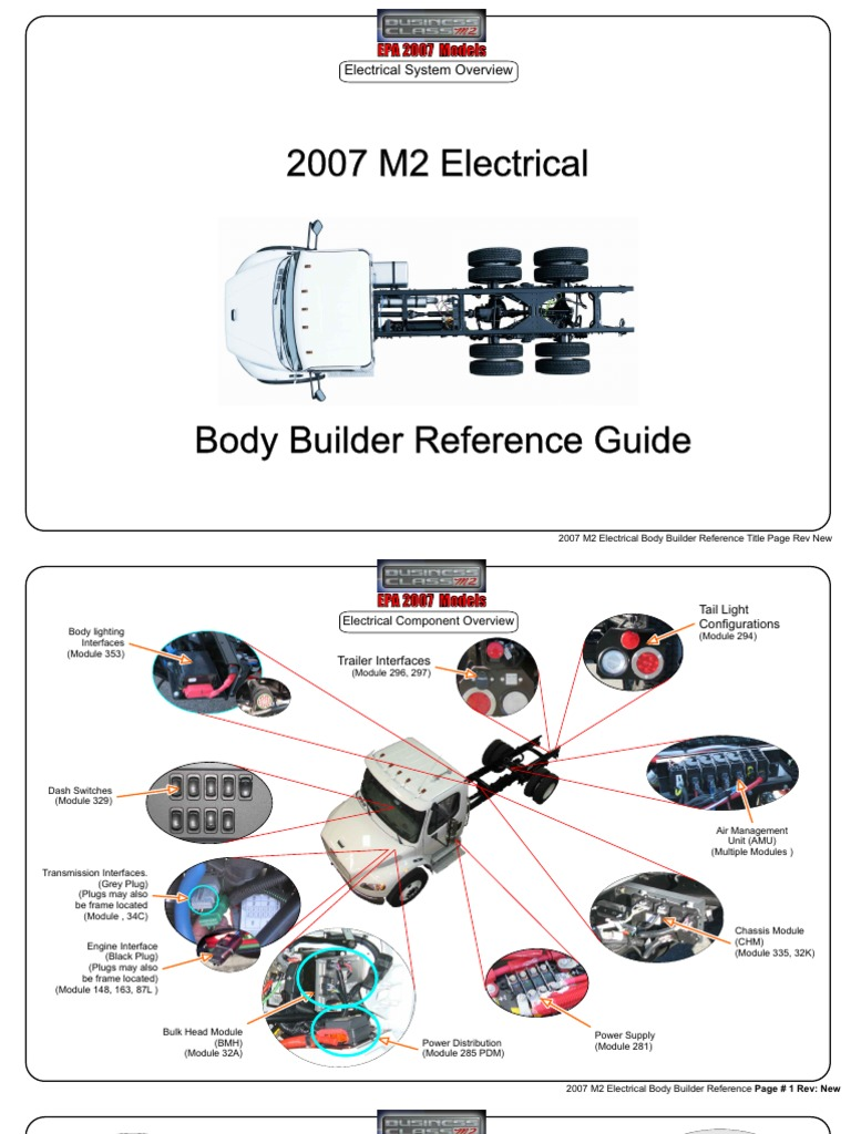 1512150415?v=1 m2 2007 electrical body builder manual rev new automatic 2007 freightliner m2 wiring diagram at bayanpartner.co