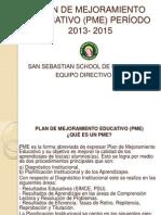 Metas Plan de Mejoramiento Educativo (Pme)_sssr