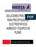 16 Soluciones Practicas Para Precipitadores Electrostaticos Humedos y Equipos de Plomo
