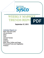 Weekly Market Trends Report 9.27.13