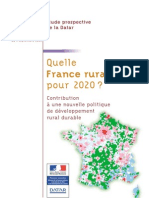 Quelle France Rurale Pour 2020 DATAR