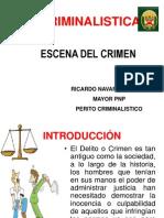 Criminalistica - Escena Del Crimen