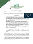 Prueba diagnóstica  español   PRE POST ESPANOL 9   y clave