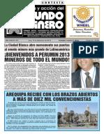 Mundo Minero 301. Agosto- Setiembre 2013