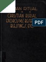 Pre-Vatican II Rite of Exorcism