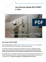 Do Your Substation Devices Speak IEC 61850? They Should, It's Time.