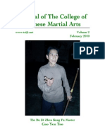 Journal of the College of Chinese Martial Arts 2