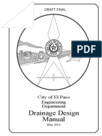 Drainage Design Manual Final Draft