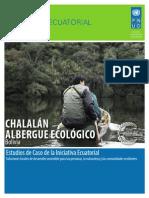 Estudios de Caso PNUD: CHALALÁN ALBERGUE ECOLÓGICO, Bolivia