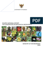 National Report Biodiversity Indonesia 2009