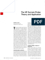 The HF Current Probe - Theory and Application