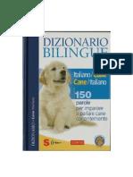 Marchesini Dizionario Bilingue Italiano-Cane Cane-Italiano (2008)