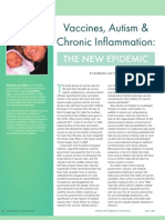 Vaccines Autism and Chronic Inflammation