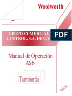 Manual de ASN Transbordo