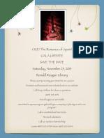 SAA Auction Flyer