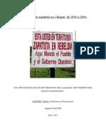 El movimiento zapatista en Chiapas.doc