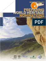 Preparing World Heritage Nominations 2011