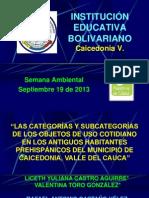 Conferencia Arq CATEGORÍAS TULUÁ.