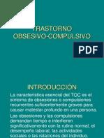 TRASTONO OBSESIVO - COMPULSIVO