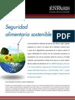 Seguridad alimentaria sostenible