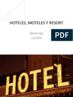 Hotel, Motel y Resort