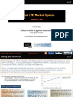 GSA Global LTE Market Update 190913