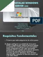 Cómo instalar Windows Server 2008.pptx