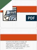 communication lesson 1