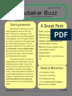 Week 6 Newsletter 2013