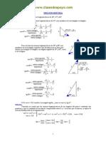 ejercicios trigonoetria