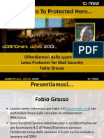 From Zero to Protected Hero… - Fabio Grasso - Dominopoint Days 2013 #dd13