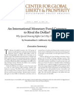 An International Monetary Fund Currency to Rival the Dollar? Why Special Drawing Rights Can't Play That Role
