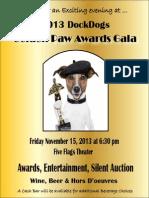 Golden Paw Awards Gala Reservation Form