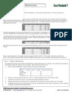 CoP021 Excel Standards