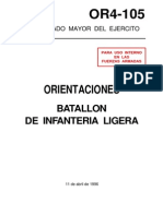 Or4-105 Batallon de Infanteria Ligera