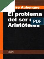 Aubenque Pierra, El Problema Del Ser en Aristoteles