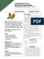 Newsletter 9 27
