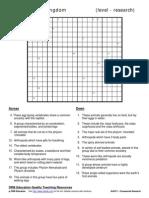 ScP011 Crosswords Research