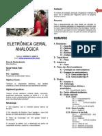 Apostila de Eletronica Geral Analógica Prof. Rodrigo