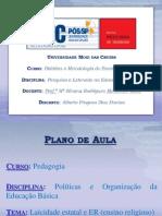 UMC - Laicidade Estatal e Ensino Religioso.pptx