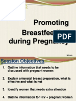 Ses 3- Promoting Breastfeeding During Pregnancy