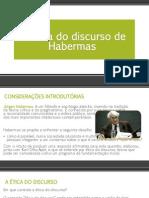 A ética do discurso de Habermas es