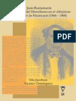 Jacobsen.  Juan Bustamante y Los Limites Del Liberalismo en Altiplano