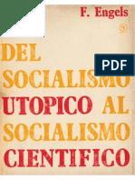 F. Engels - Del socialismo utópico al socialismo científico