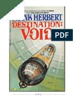 Frank Herbert - Destino, o Vazio