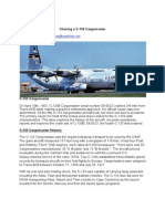 Story Chasing a C-133 Cargomaster