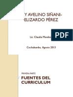 Ley Avelino Siñani –Elizardo Pérezll